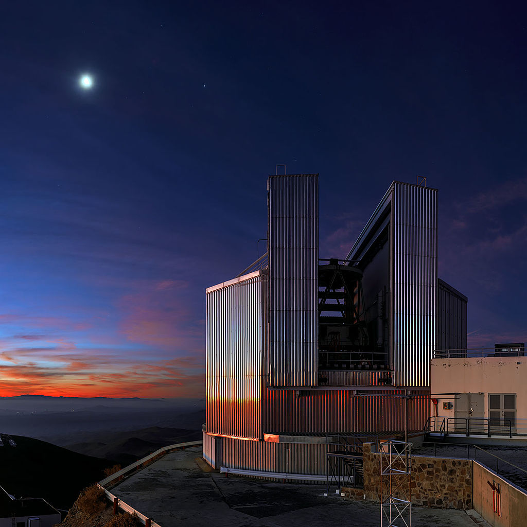 Located at European Southern Observatory, La Silla, Chile