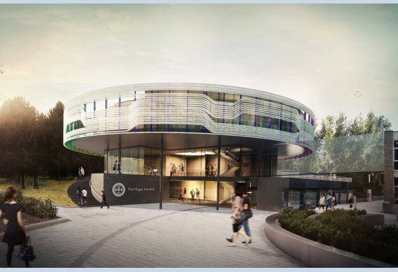 Artist's impression of the building that will house the Higgs Centre for Theoretical Physics.