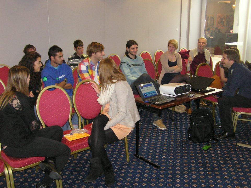 Intel ISEF Alumni Meeting at Sci-preneurship