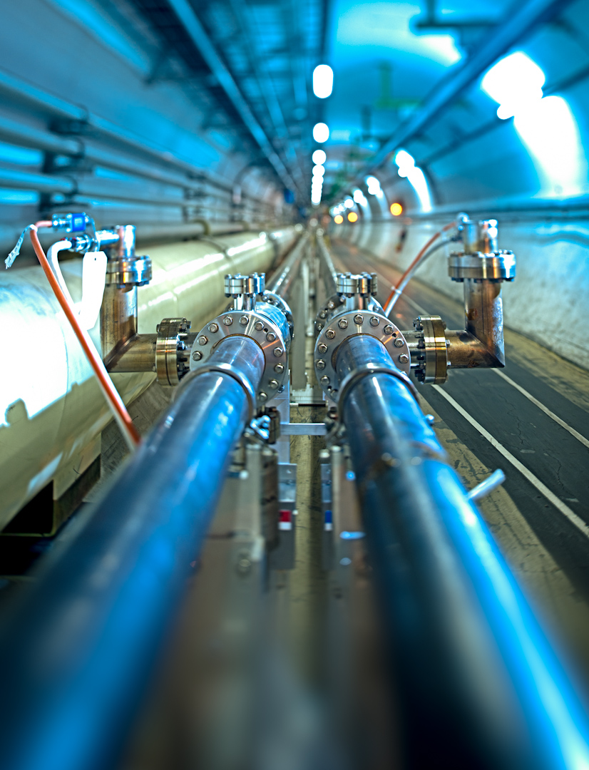 LHC tunnel. Image: CERN