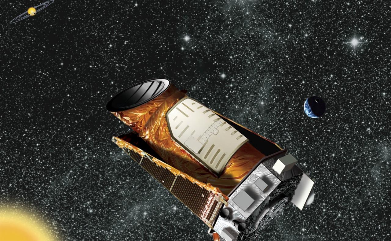 The NASA KEPLER spacecraft.