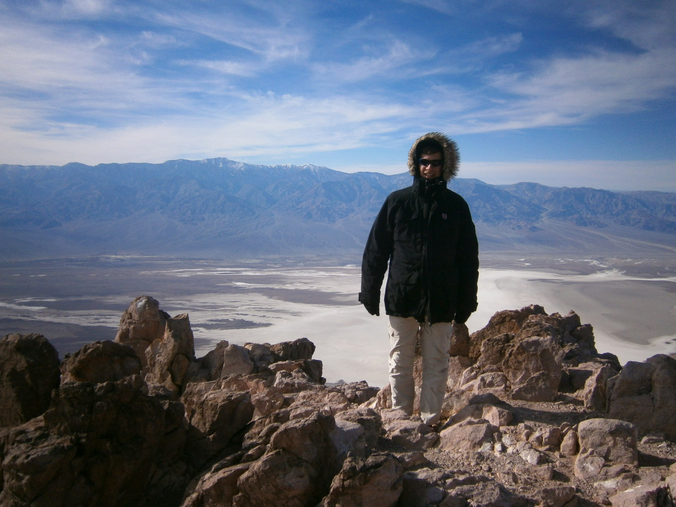 Max in Death Valley