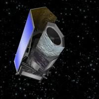Artist's impression of Euclid. Image: ESA - C. Carreau.