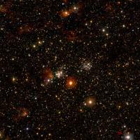 Detail of the billion-star image.