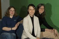 Some of the MSc in HPC teaching team.
